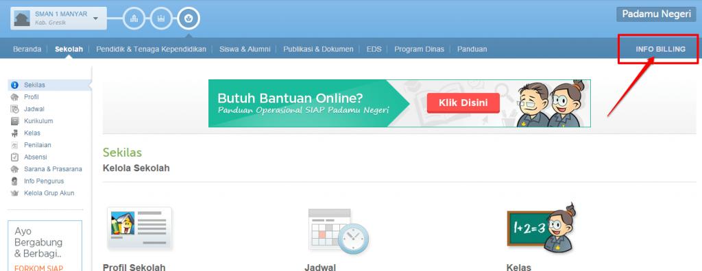 klik info billing