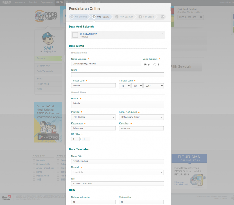 Bakti Indonesiaku Siap Ppdb Online Download Lengkap